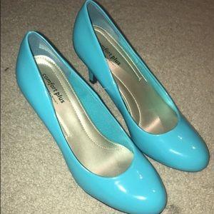 Convert plus heels